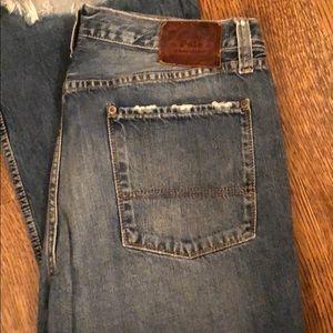 Men's polo jeans